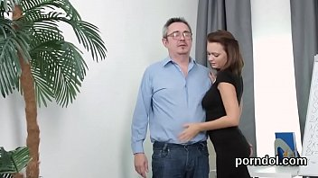 bus schoolgirl by and 2 geek on seduced fucked Save your cum