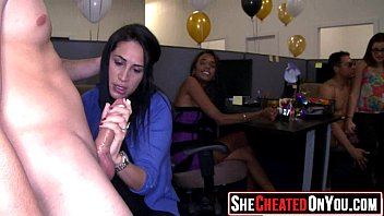 lesbian cheating girlfreind by caught Wife old creampie