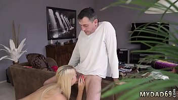 old tow dughter father Redhead blindfolded and fucked