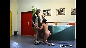her fellow penis juicy hole stuffs pretty of big German mistess in latex slave bathroom and whip