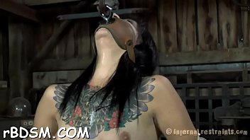 punished shemale on Hot slut gets her hairy pussy fucked